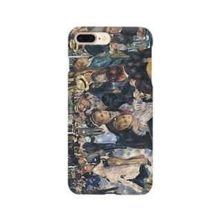 ルノアール「ムーラン・ド・ラ・ギャレットの舞踏場」 Smartphone cases
