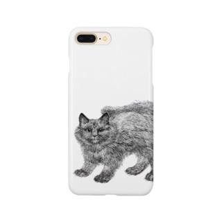 ふわふわの仔猫 Smartphone cases