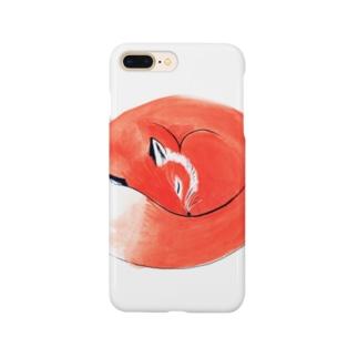 ねむりきつね Smartphone cases