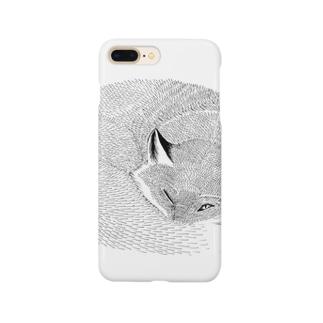 ねたふりきつね Smartphone cases