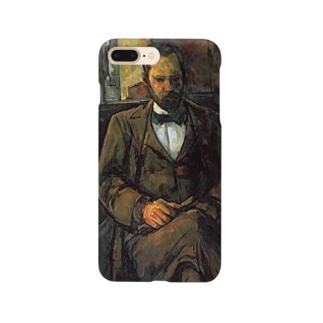 セザンヌ「アンブロワーズ・ヴォラールの肖像」 Smartphone cases