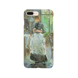 モリゾ「食堂にて」 Smartphone cases