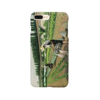 カイユボット「庭師」 Smartphone cases