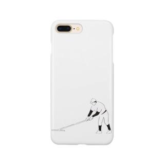 野球部とんぼがけ Smartphone cases