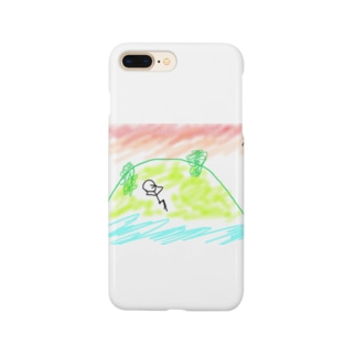 孤島のボーにんげん Smartphone cases