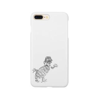 オニタマオヤモリ Smartphone cases