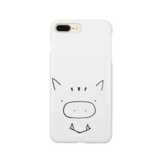 いのししさん Smartphone cases