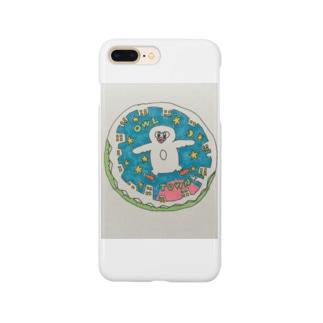 フクロウ町 Smartphone cases