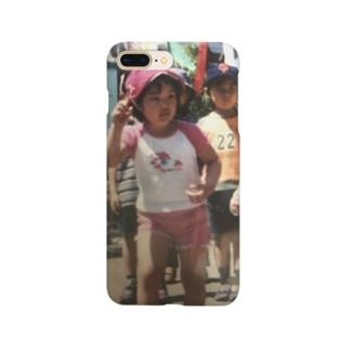 幼少期のわたし Smartphone cases