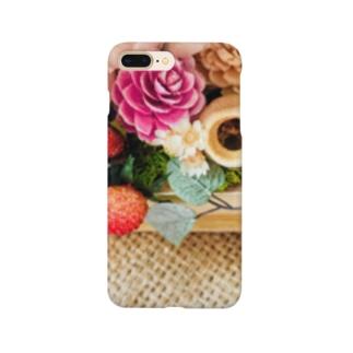 ジュート&プリザーブドフラワー3 Smartphone cases