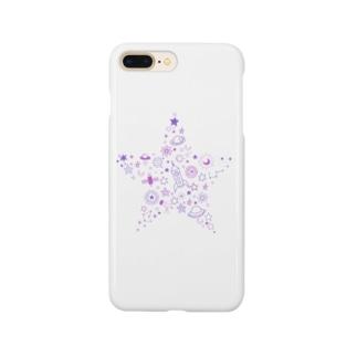 星型宇宙 Smartphone cases