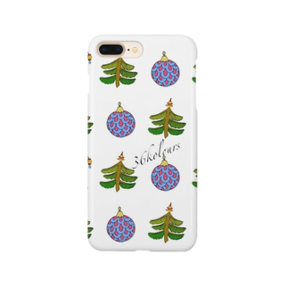 Christmas Ornaments (36kolours) グリーン Smartphone cases