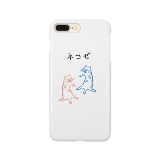 ネコゼ  アオネコの日常 Smartphone cases