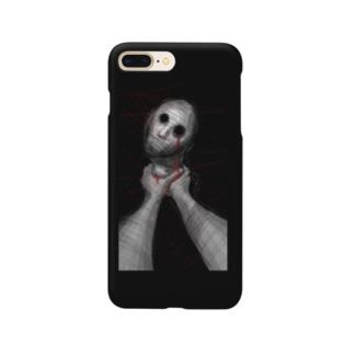 首締めセックス Smartphone cases