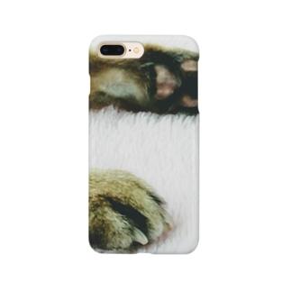 家の猫の手。 Smartphone cases