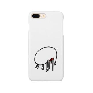 休憩中 Smartphone cases