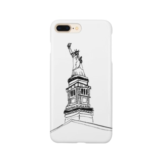 """Travel series """"ニューヨーク"""" Smartphone cases"""