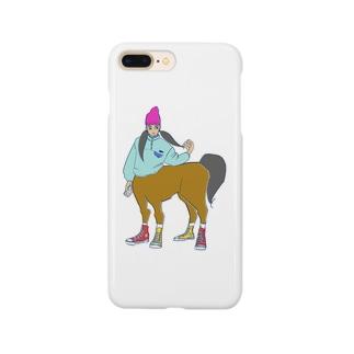 ツインテール子 Smartphone cases