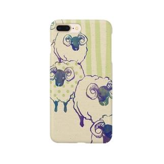 羊(ミドリ) Smartphone cases