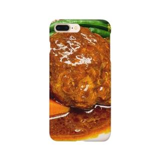 ハンバーグ Smartphone cases