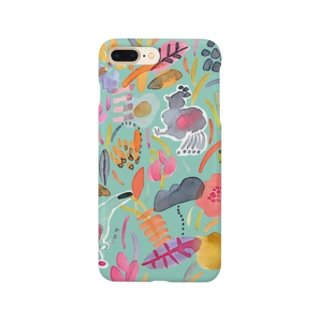 colorful garden Smartphone cases