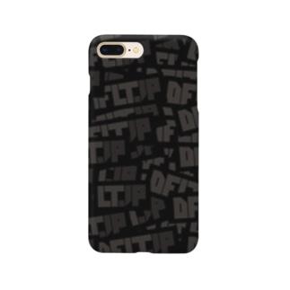 DFLT.JP ロゴスマホケース Smartphone cases