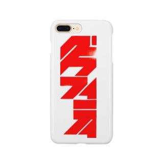 グラフィティ RED Smartphone cases