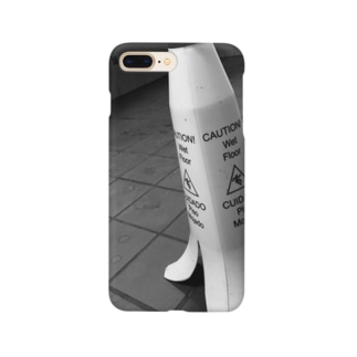 便所滑り警告バナナ Smartphone cases