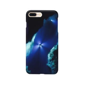 青の洞窟 Smartphone cases