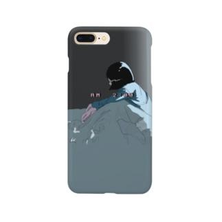 不安だね Smartphone cases