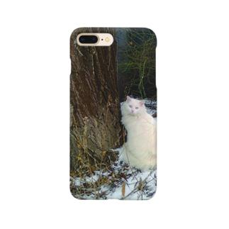Winter Cat Smartphone cases