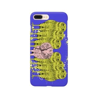 あなほりふくろう Smartphone cases