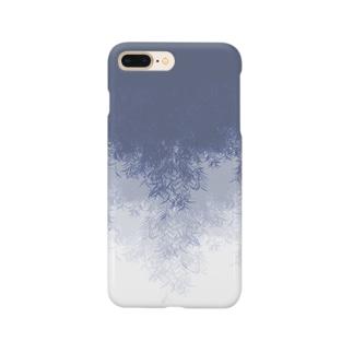 Willow (Blue gray) スマートフォンケース