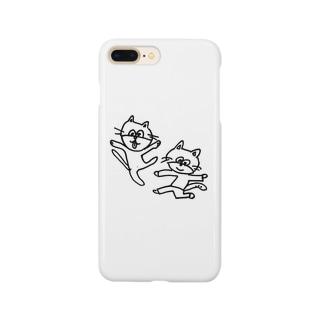 ねこレンジャー Smartphone cases