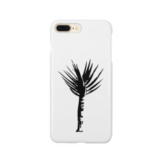アロエ ディコトマ シンプルモノトーングラフィック Smartphone cases
