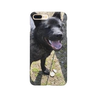 甲斐犬のハナちゃん Smartphone cases