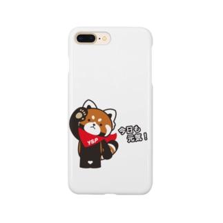 YSパンダ・今日も元気 Smartphone cases