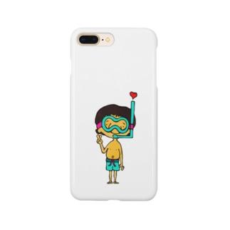海パンボーイ Smartphone cases