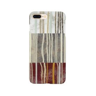 いろんな麺柄 Smartphone cases