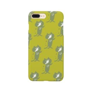 ゾンビにゃんこ! Smartphone cases