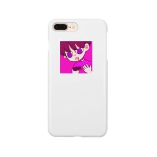 自分を殺す Smartphone cases