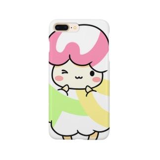 MKのぬくもりひつじちゃん Smartphone cases