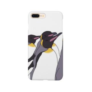 オウサマペンギン Smartphone cases