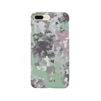 モスいろカモフラ Smartphone cases