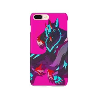 K-WOLFハンドメイド垢の名無しくんver3 Smartphone cases