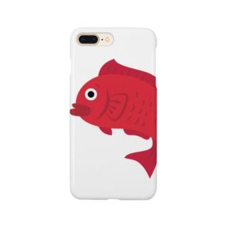 愛で鯛くん Smartphone cases