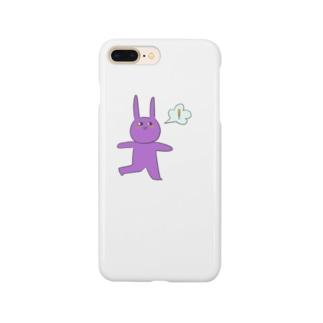 うさぎエイリアン👾 Smartphone cases