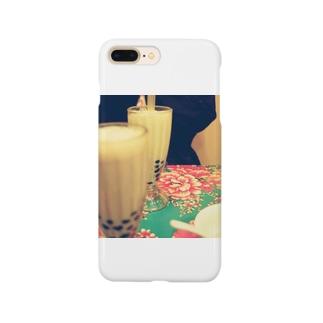 タピ好きによるタピ好きのためのタピオカ Smartphone cases