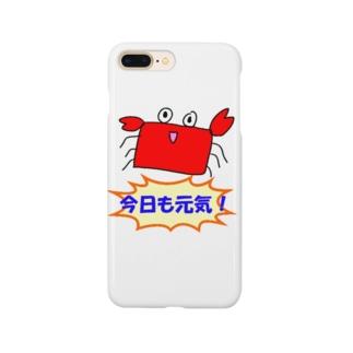 げんきなかに Smartphone cases