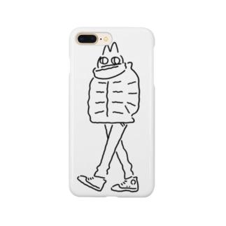厚着のねこ Smartphone cases